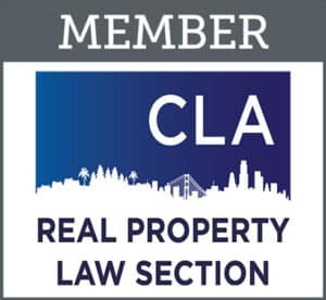 CLA Real Property Law Section